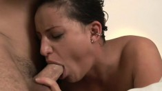 Perfect whore with enormously sexy ass Lola gets amazing fuck from her partner